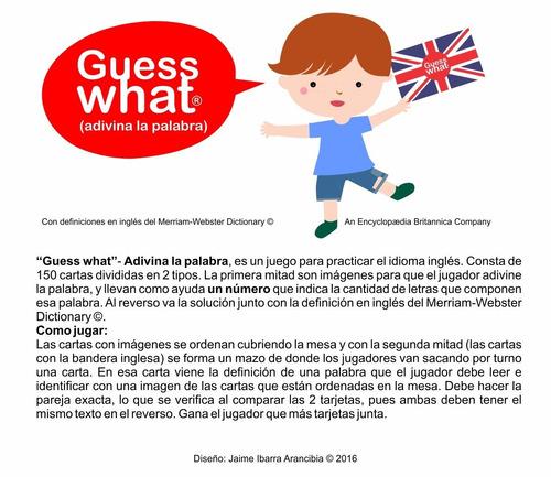 juego para practicar inglés