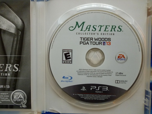 juego para ps3 o play station3 - tiger woods pga tour golf