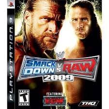 juego para ps3 smack down vs raw 2009