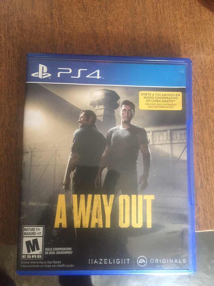 Juego Para Ps4 Original A Way Out 700 00 En Mercado Libre
