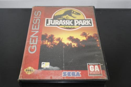 juego para sega genesis, jurassic park