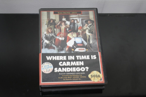 juego para sega genesis system, where in the time is carmens