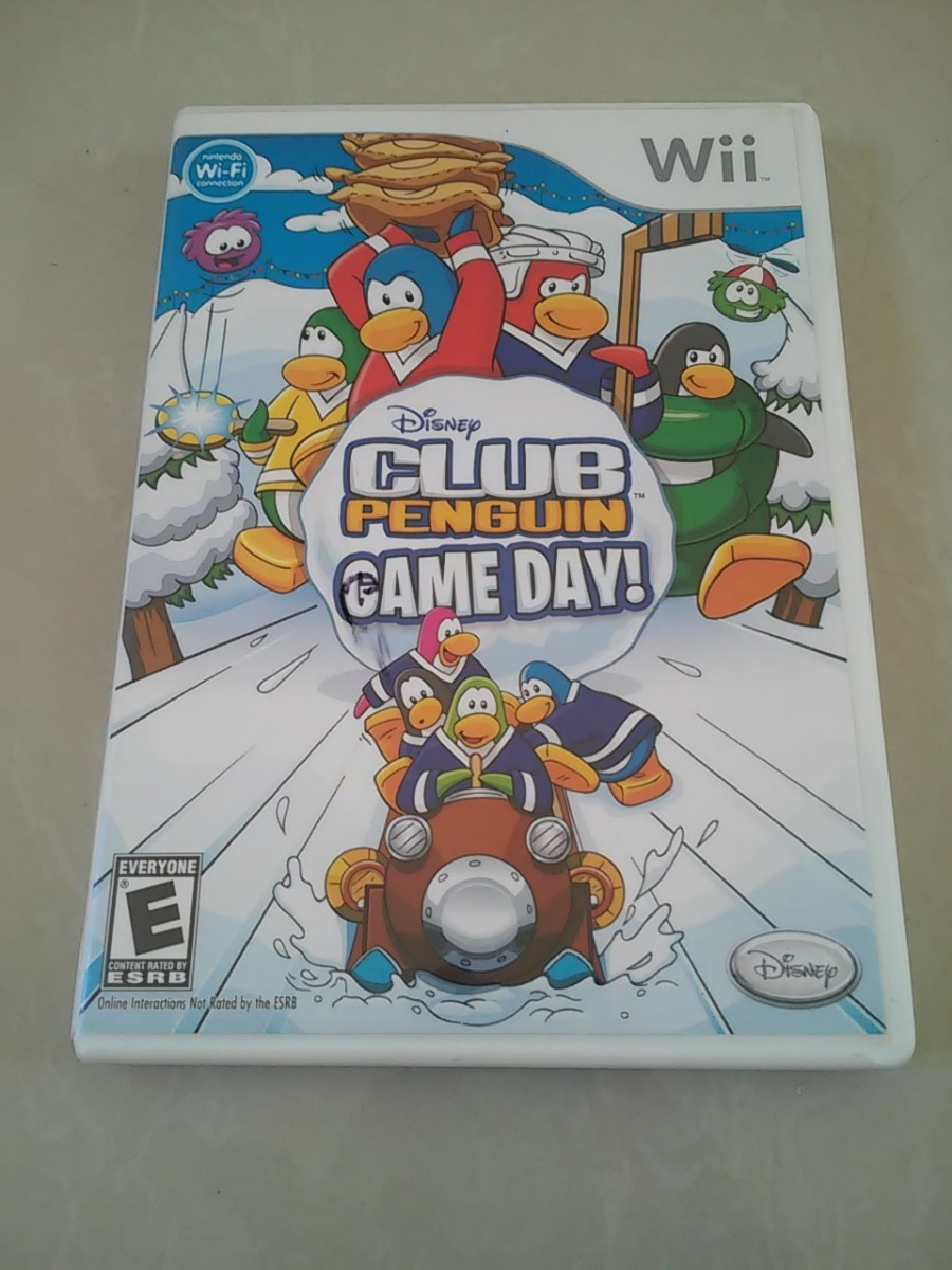 Juego Para Wii Club Penguin Disney Game Day Original Bs 8 000 00