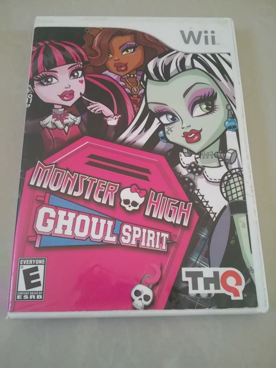Juego Para Wii De Monster High Original Bs 30 000 00 En Mercado Libre
