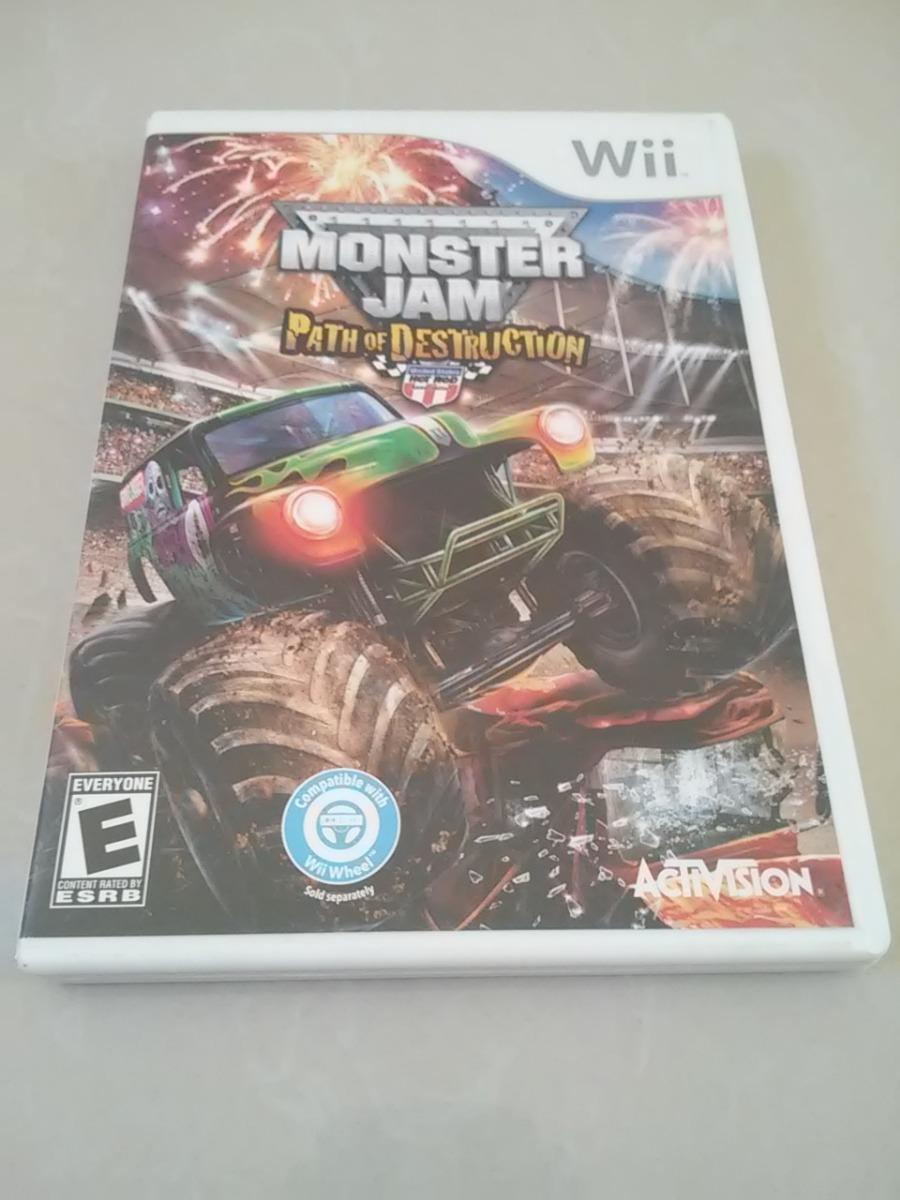 Juego Para Wii Monster Jam Path Of Destruction Original Bs 30 000