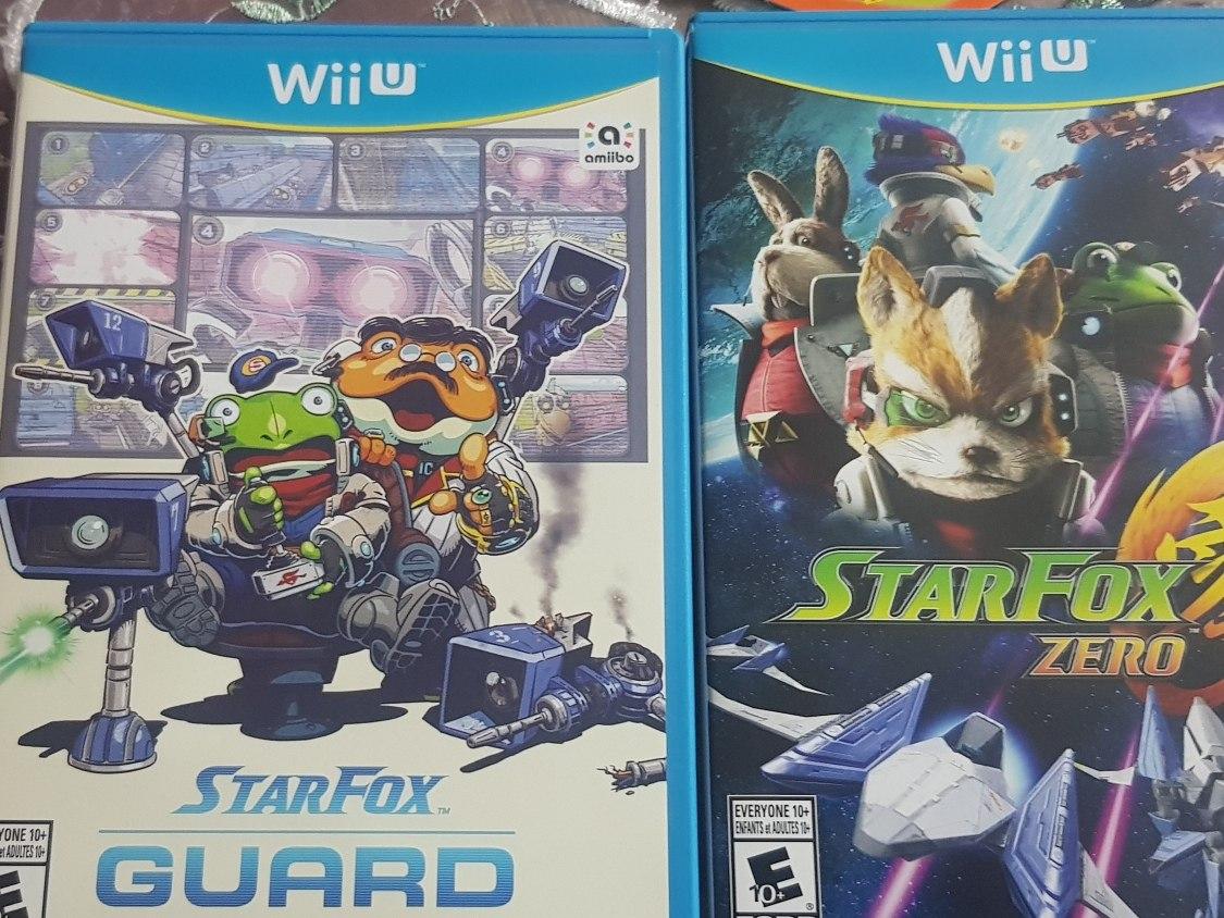 Juego Para Wiiu Starfox Guard 600 00 En Mercado Libre