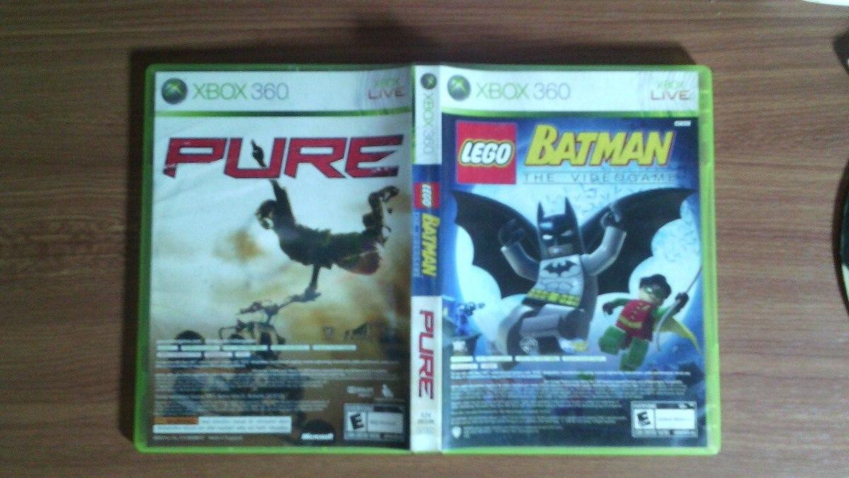 Juego Para Xbox 360 Batman Lego Pure Originales Bs 0 07 En