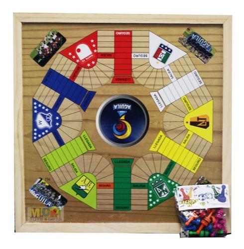 juego parqués 6 y ajedrez magnético finca 40x40 cm