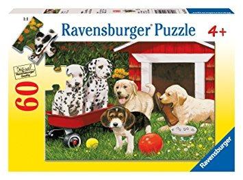 juego parte del perrito ravensburger - 60 pieza del rompeca