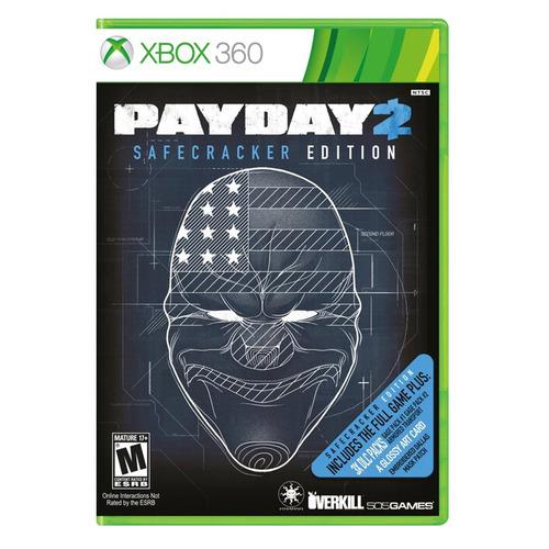 juego payday 2 safecracker edición xbox 360 ibushak gaming