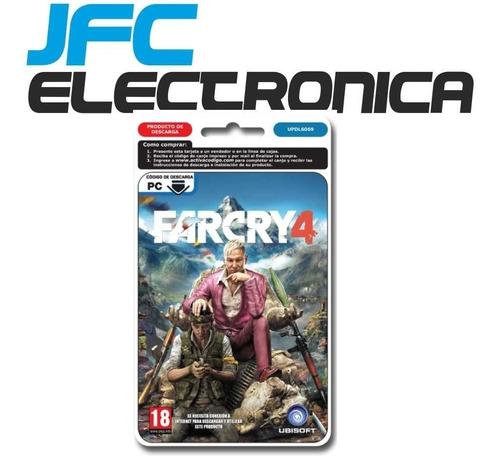 juego pc far cry 4 farcry 4 original completo full uplay