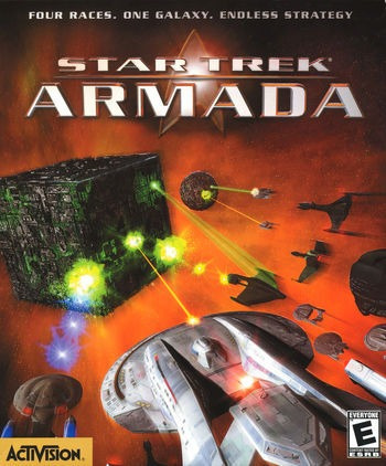 juego pc star trek armada ms-dos - original fisico