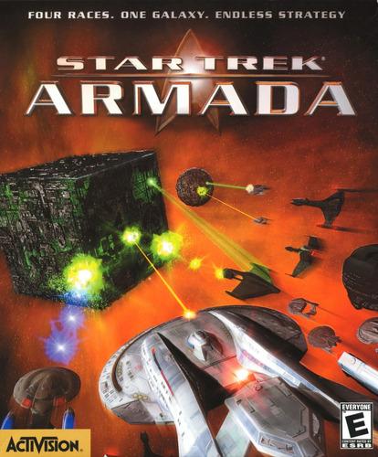 juego pc star trek armada ms-dos - original fisico
