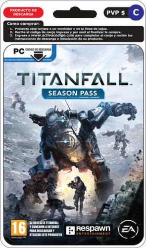 juego pc titanfall season pass expansion pase de temporada