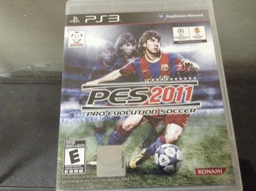 juego pes2011 nuevo original ps3