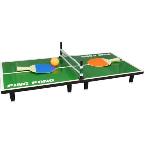 juego ping pong de sobremesa portátil