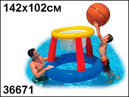 juego piscina cancha baloncesto inflable pelota basket 56506