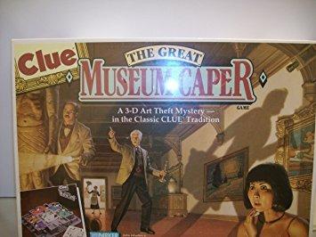 juego pista - el gran museo de la alcaparra