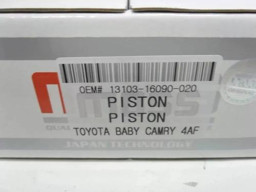 juego piston toyota corolla baby camry mot (carburado)020-40