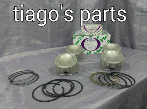 juego pistones y anillos 0.40   ford laser 1.8 año +2000
