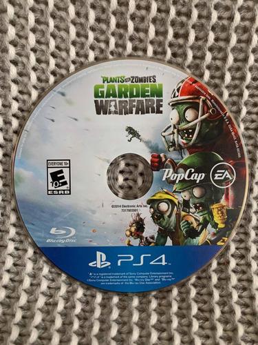 juego plants vs zombies - garden warfare para ps4