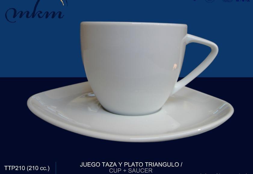 Juego plato taza para cafe e porcelana fina modelo for Juego tazas cafe