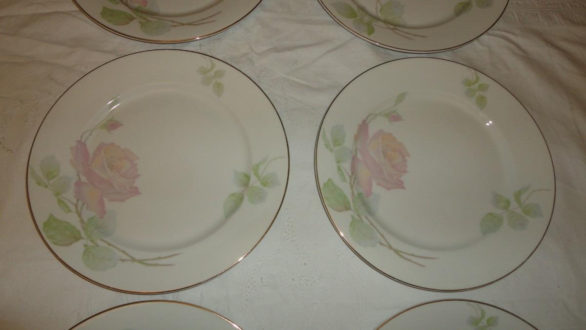 Juego platos porcelana rosenthal antiguos refinados vealos for Platos porcelana
