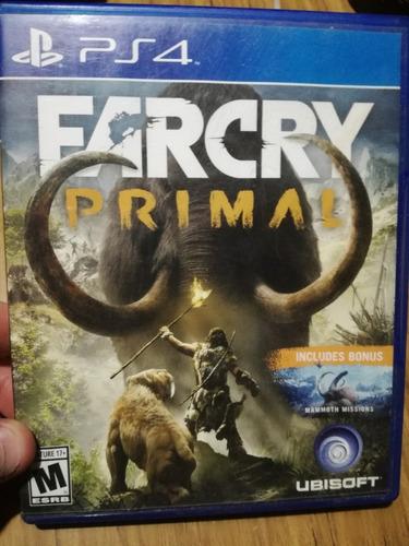 juego play 4 farcry primal físico