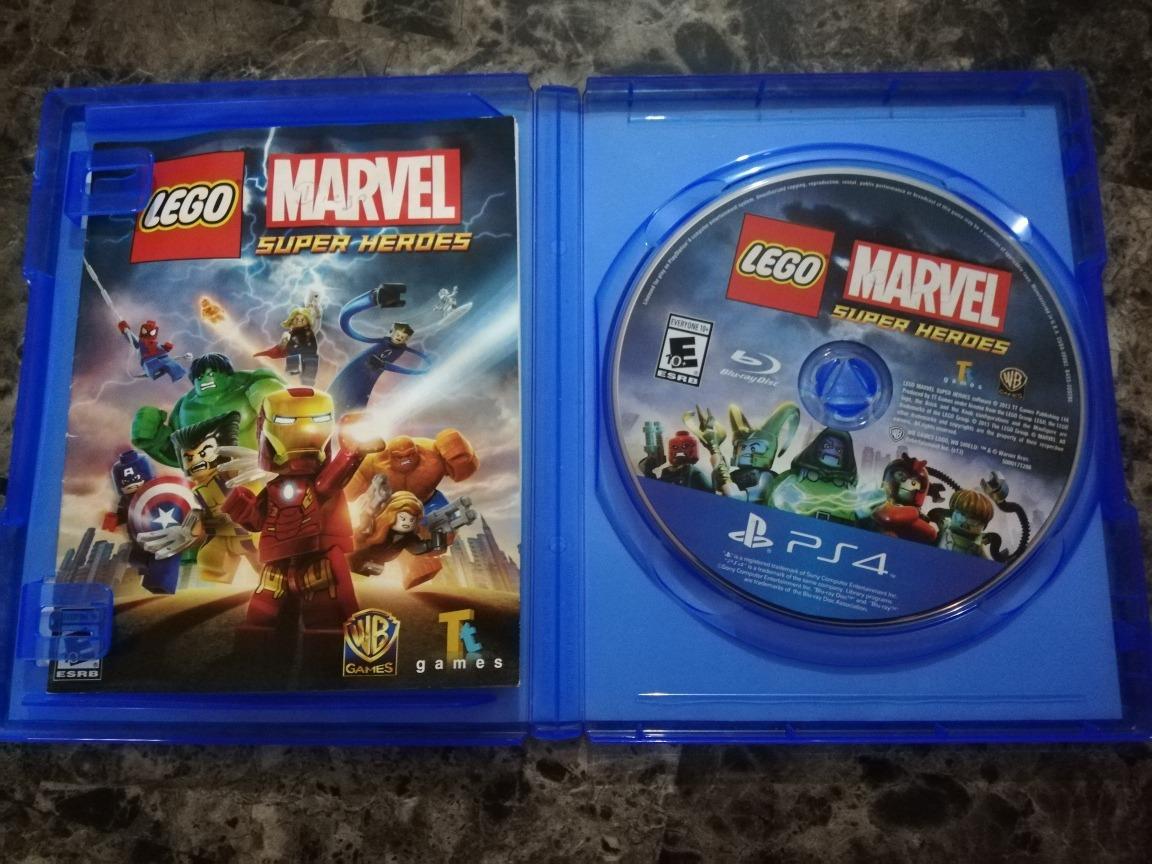 Juego Play 4 Lego Marvel Bs 2 000 00 En Mercado Libre