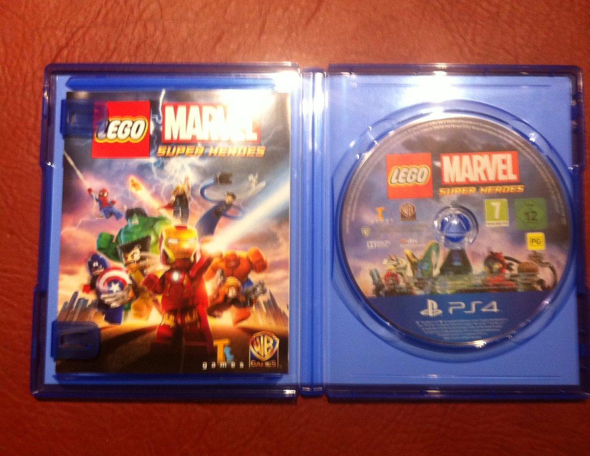 Juego Play 4 Lego Marvel Super Heroes 980 00 En Mercado Libre