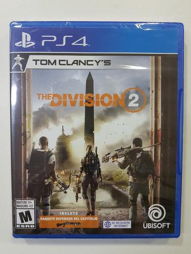 juego play 4 tom clancy's the division 2 fisico sellado