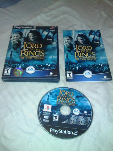 juego play station 2 the lord of the rings rhe two towers