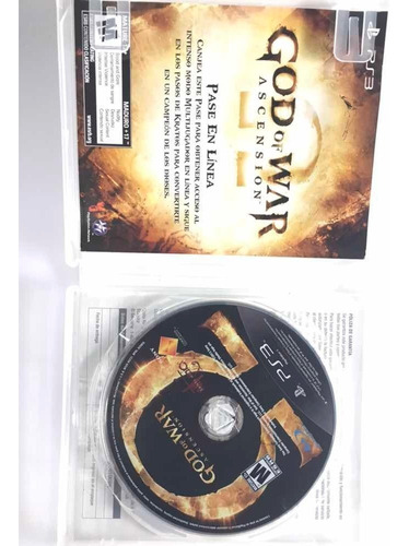 juego playstation 3 god of war ascensión