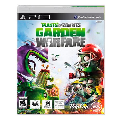 juego playstation 3 p vs z: garden warfare ibushak gaming