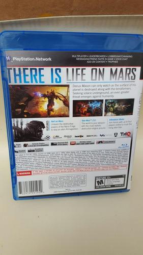 juego playstation 3 red factuon armagedon líquido