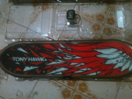 juego playstation 3 tony hawk shred + sensor skateboard
