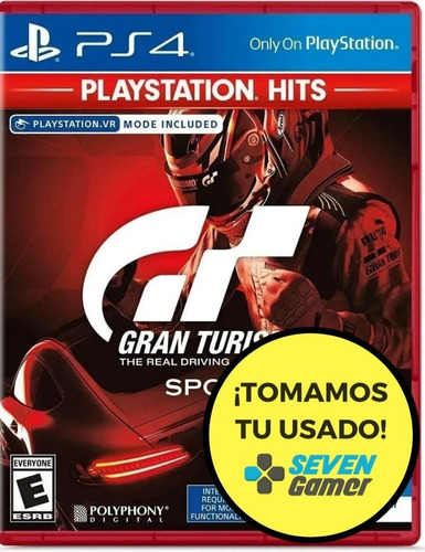 juego playstation 4 gran turismo sport ps4 sellado fisico