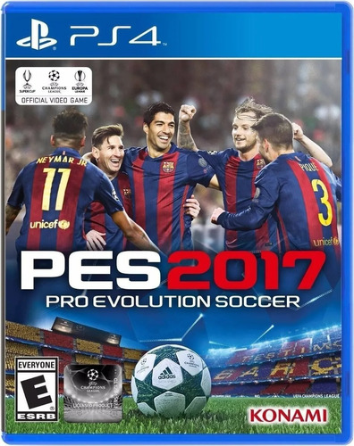 juego playstation 4 pes 17 2017 ps4 físico sellado blu-ray