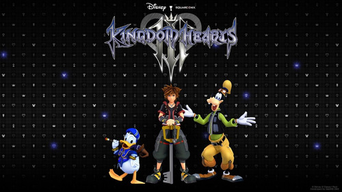 juego playstation 4 ps4 kingdom hearts 3 fisico + poster