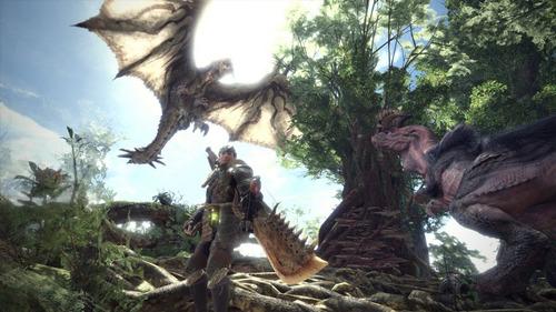 juego playstation monster hunter world / makkax