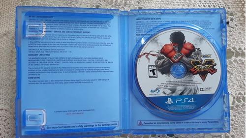 juego playstattion 4 street fighter v