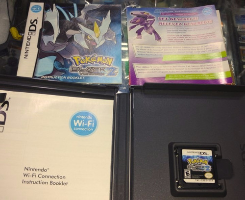 juego pokemon black 2 version  negro ds nintendo ds oferta