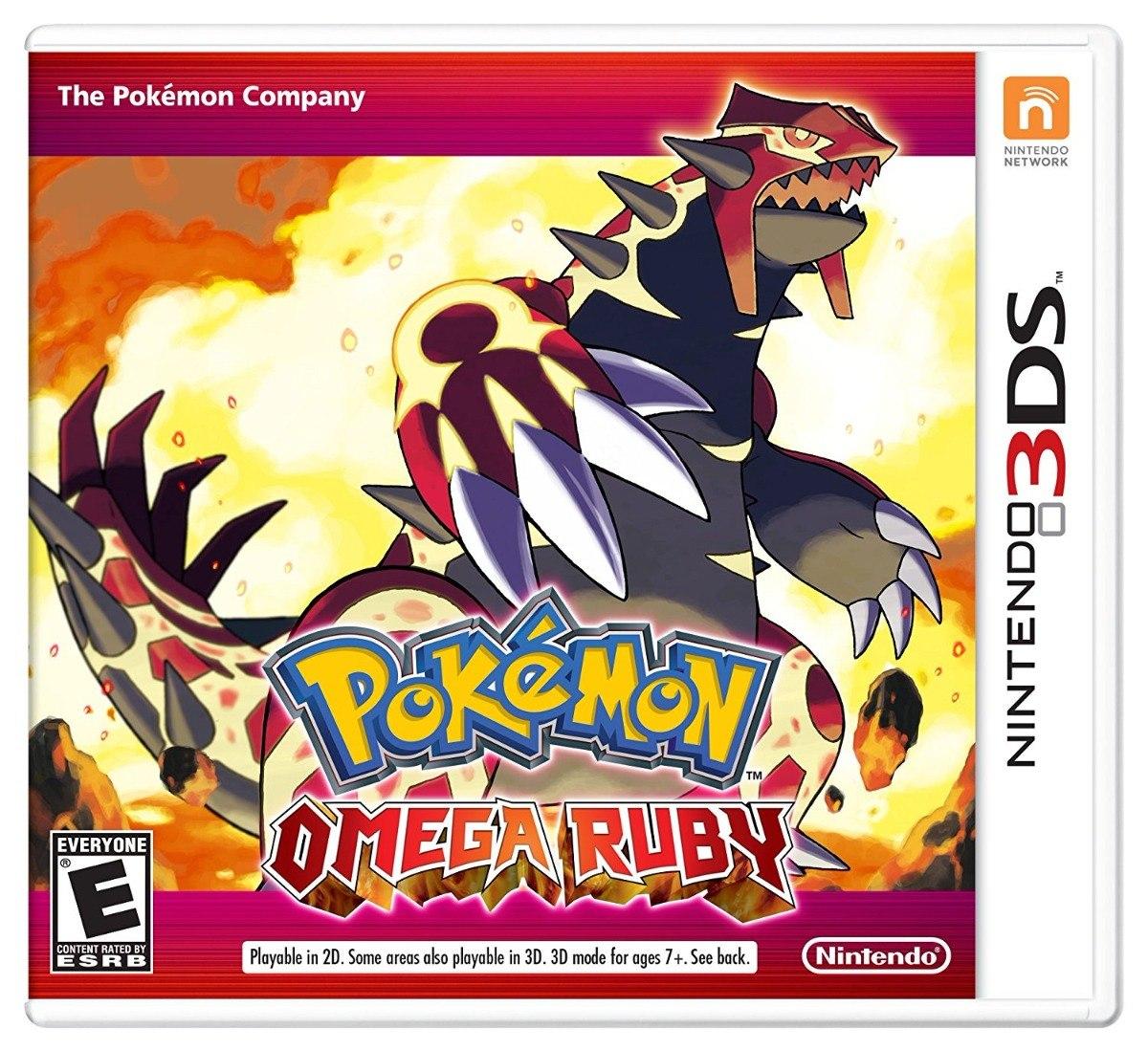 Juego Pokemon Omega Ruby Para Nintendo 3ds Nuevo Sellado 799 00