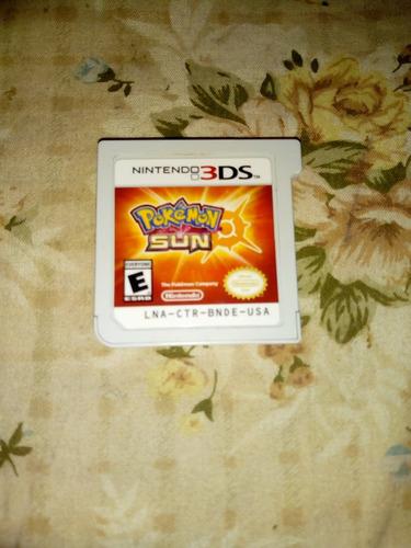 juego pokemon sun