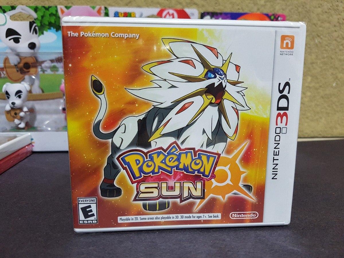 Juego Pokemon Sun Para Nintendo 3ds Nuevo Y Sellado 549 00 En