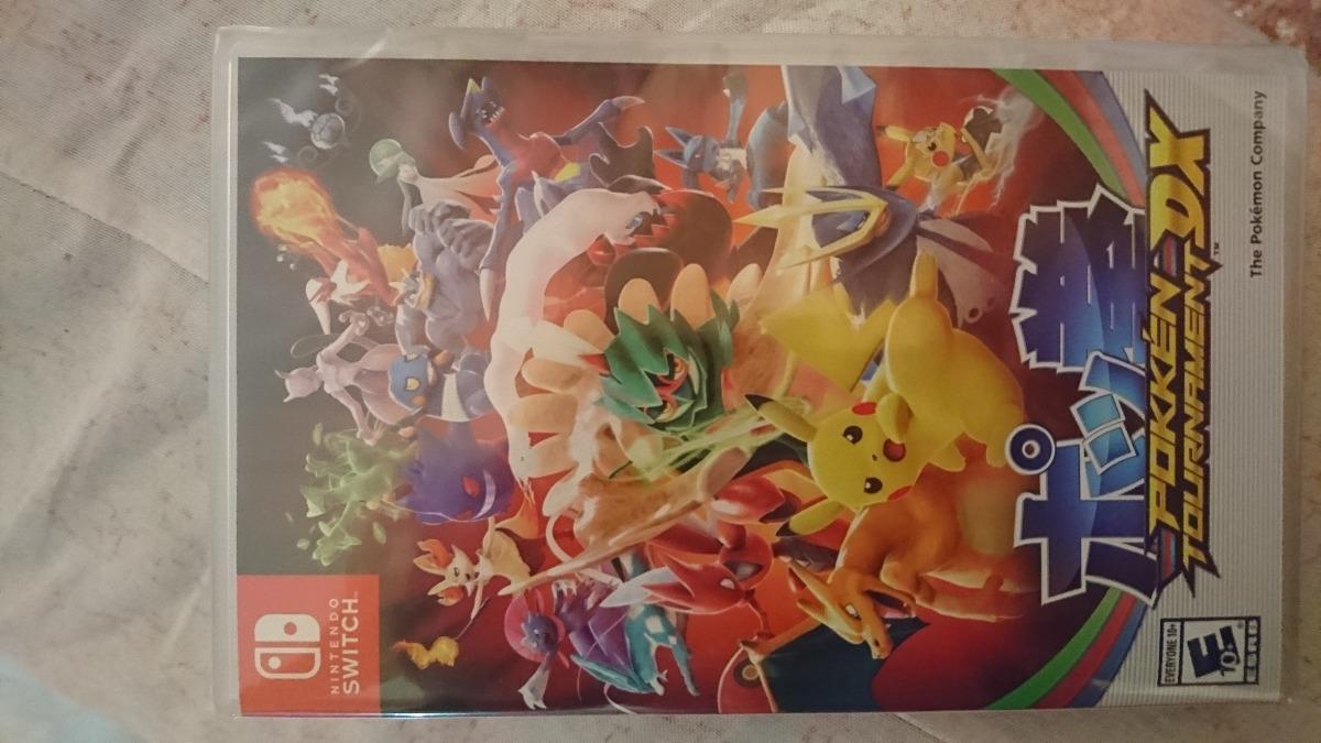 Juego Pokemon Tournament Dx Nintendo Switch Nuevo Y Sellado