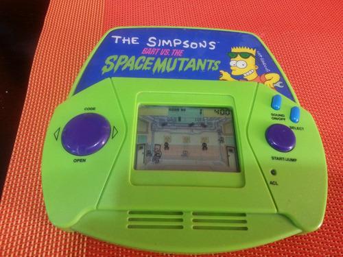 juego portatil acclaim de los simpsons