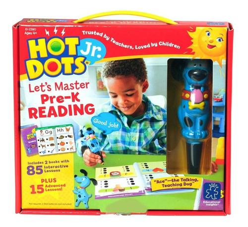 juego pre lectura hot dots jr. let's master con bolígrafo