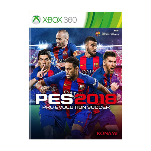juego pro evolution soccer 2018 xbox 360 ibushak gaming