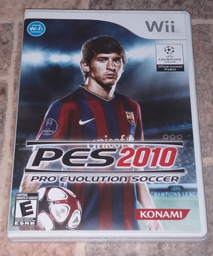 juego pro evolution soccer pes 2010 wii original (poco uso)